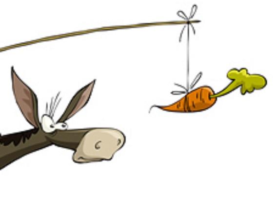 Морковка на удочке картинки